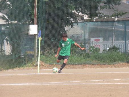 8月9日(日)VS草加東高校 トレーニングマッチ 試合結果