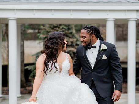 Jasmine + Wes' Classic Elegant Wedding in Boston!