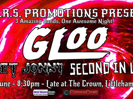 LARS Promotions Event featuring GLOO with Sweet Jonny and Second In Line.