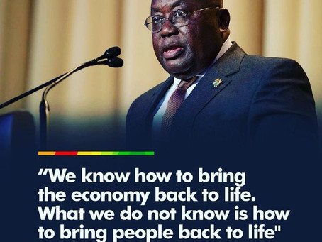 Official Twitter account of Nana Addo Dankwa Akufo-Addo, President of the Republic of Ghana