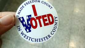 Voting Day at Purchase College