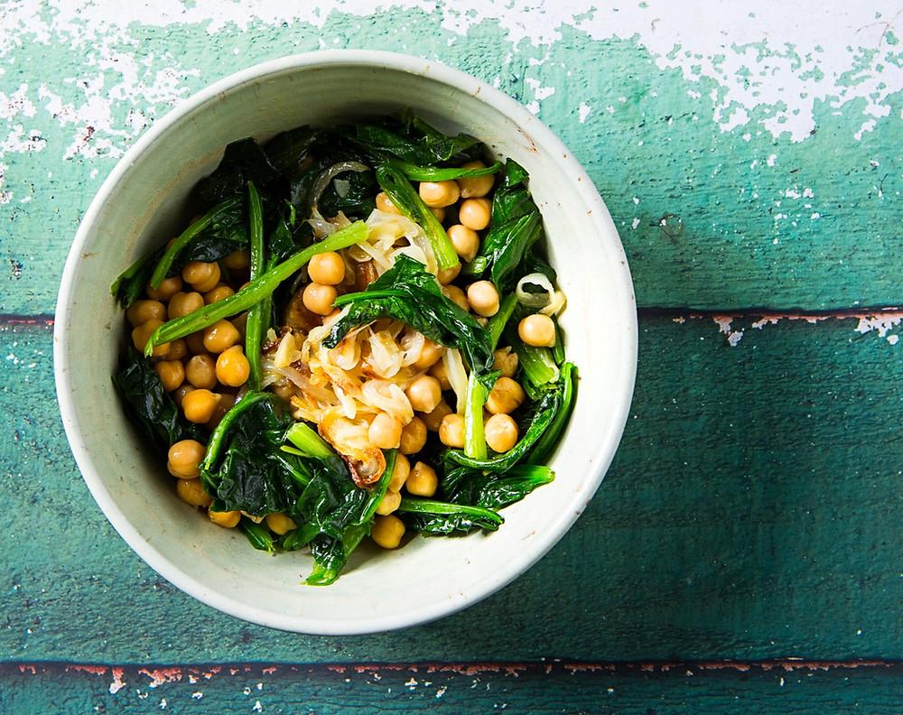 lęšių ir špinatų troškinys, greita vakarienė, receptai, vegetariški receptai, Alfo receptai