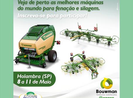 Bouwman Tecnologia participa do  III Encontro Brasileiro de Fenação