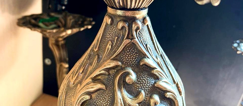 Реставрация бронзовой люстры
