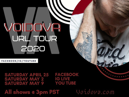 URL TOUR 2020 STARTS 4/25/20