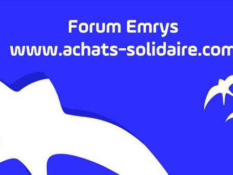 Ouverture d'un Forum EMRYS LA CARTE