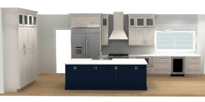 Round One Kitchen Plan | Pinnacle Interior Designs