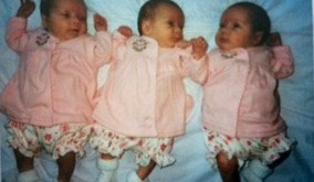 Meet the Artists: Rachel, Rebekah & Sarah. The Shock of Triplets!