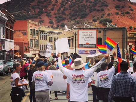 Attend Bisbee Pride with My Son (Again)? Absolutely!