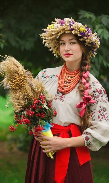 Brunette European women