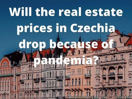 Will the real estate prices drop in Czechia because of pandemia?