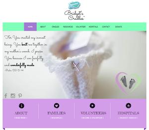 Homepage for Bridget's Cradles