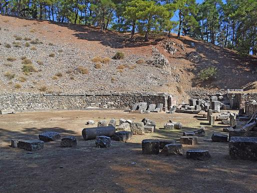 Ancient Theatre of Mytilini | Lesbos