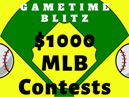 Start of the MLB Summer Contests!