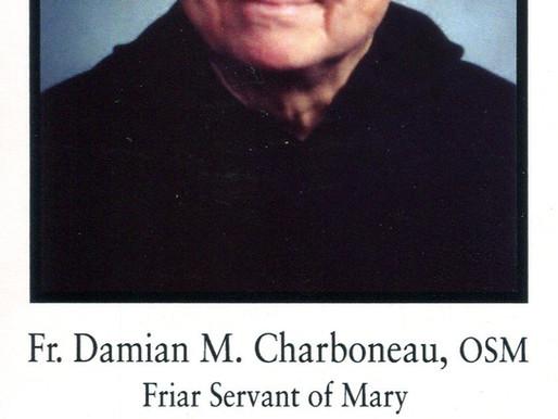 Obituary of Father Damian M. Kobus, O.S.M.