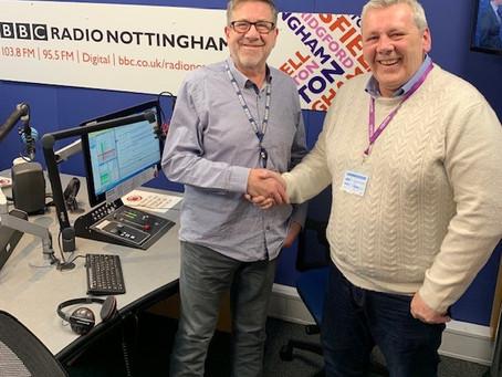 BBC RADIO NOTTINGHAM - photos and link