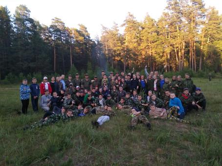Юнармейцы Тургиногвской школы приняли участие  в региональных армейских играх «Арми-2019».