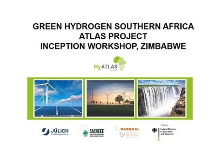 Presentation at Zimbabwe Green Hydrogen Atlas workshop