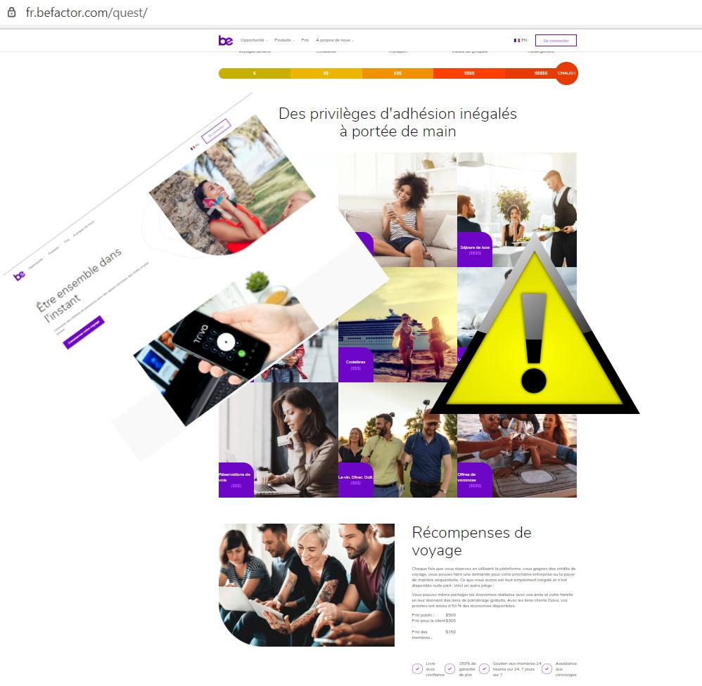 BeFactor MLM Pyramidal