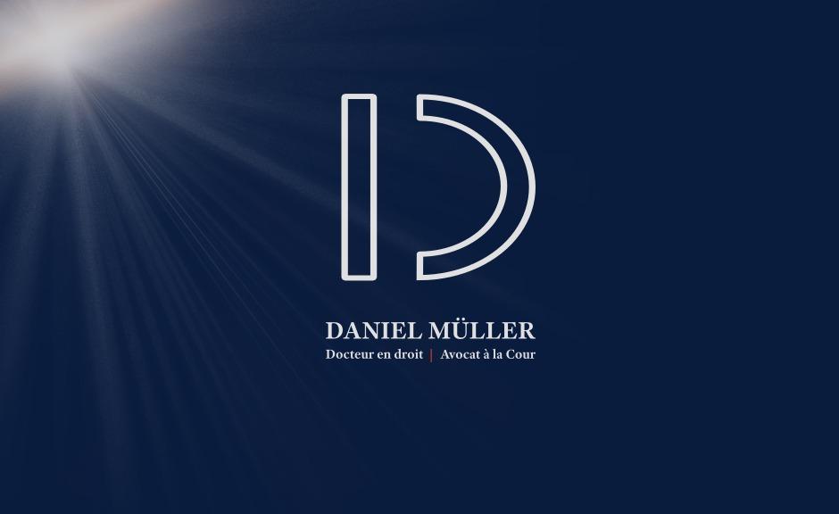 Daniel Müller | Docteur en droit | Avocat à la Cour - Logo
