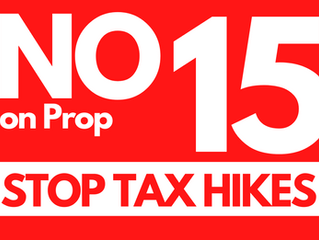 Prop 15 Fails to Pass California Voters