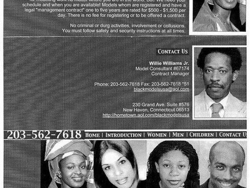 Black Models USA Inc Website 230 Grand Avenue-Suite # 576 New Haven, Connecticut 06513-2429