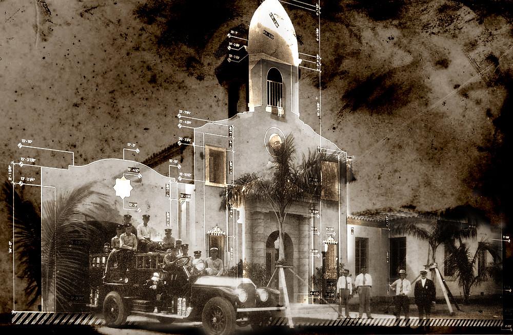 3d, scan, boca raton, fire station, architecture