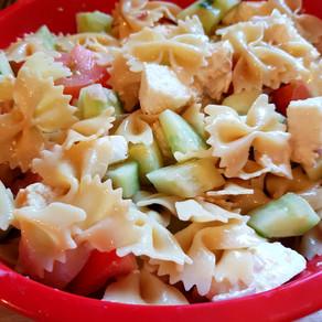 Salade de pâtes des soirs de flemme - recette vidéo