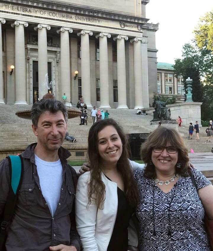 With Dalia Zahger and Melissa Landa