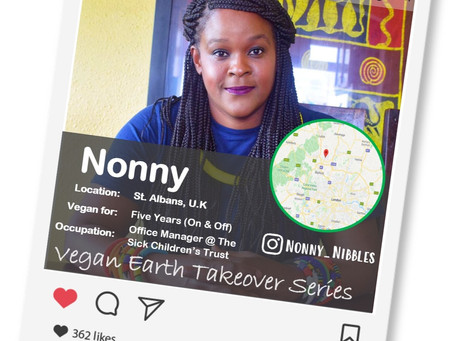 Introducing our Vegan of the week.....Nonny!🌎💚🌱