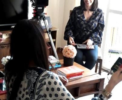 #ElaRepórter   Daniela Santos