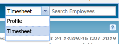 Carlton's Tip: Find employees' profiles and timesheets quickly
