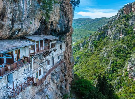 Lousios Gorge | Arcadia Highlands | Tracing Monasteries