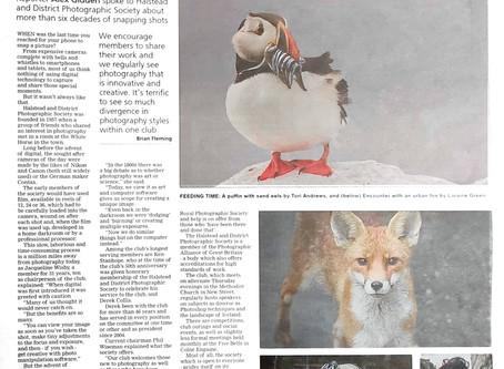 Halstead Gazette features HDPS