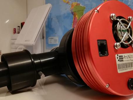 CCD Atik 314L repaired!