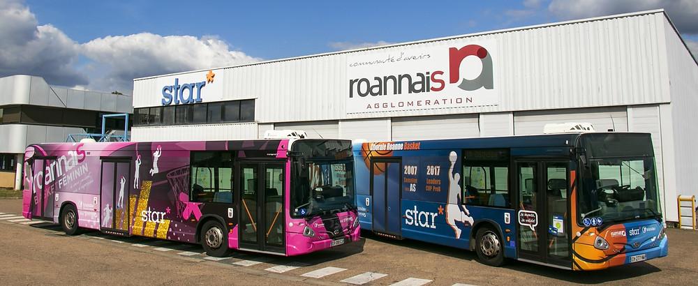 Heuliez GX337 Roanne réseau STAR
