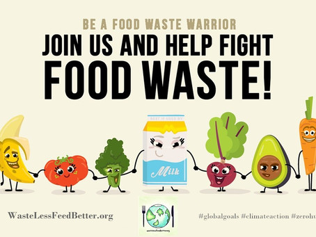 Fighting Food Waste Means Fighting Climate Change.
