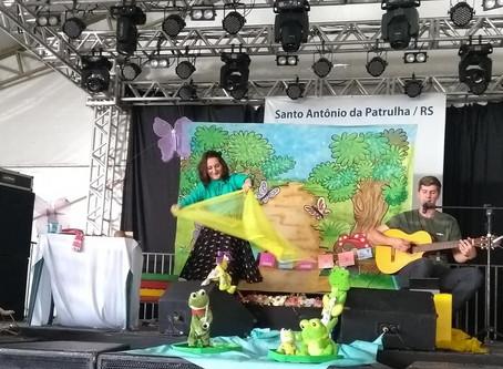 Márcia Funke Dieter na Feira do Livro de Santo Antônio da Patrulha