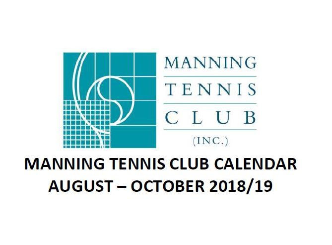 Find out what's on at the club from August to October 2018