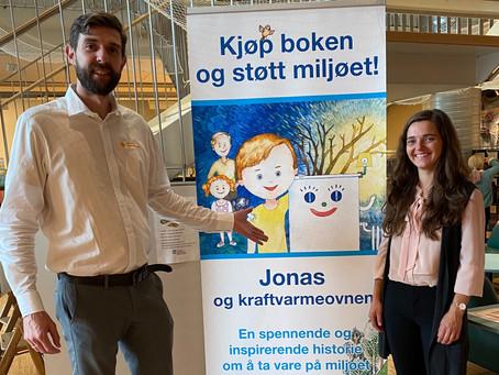 Boklansering på Tromsø bibliotek