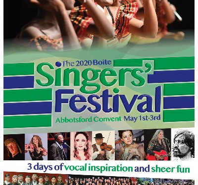 New look, new sounds for the 2020 Boite Singers' Festival