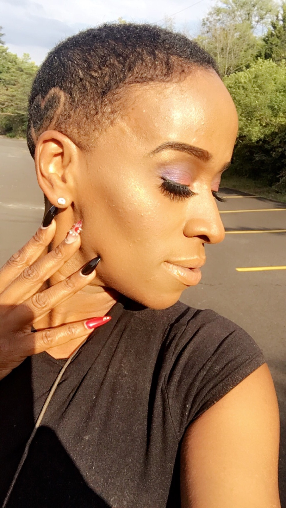 BoojiBEE Makeup using Wet 'n' Wild Astro lipgloss.