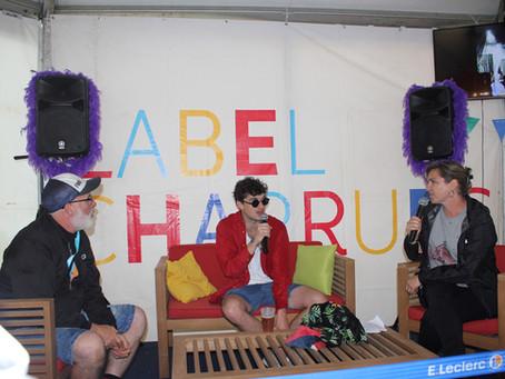 Rencontres d'artistes aux Vieilles Charrues