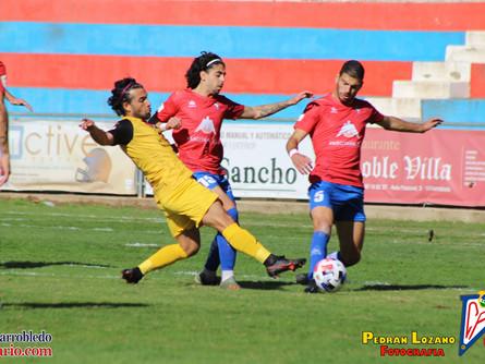 Pedran Lozano y Villarrobledo Diario nos dejan las imágenes del Villarrobledo 0 Extremadura 1