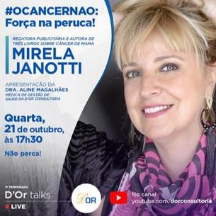 D'Or Talks entrevista Mirela Janotti, embaixadora da campanha de Outubro Rosa