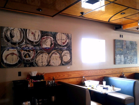 Hanging Art @ The French Press Tomorrow
