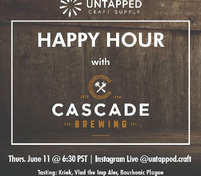 UnTapped Happy Hour feat. Cascade Brewing's Kevin Martin - Wrap-Up