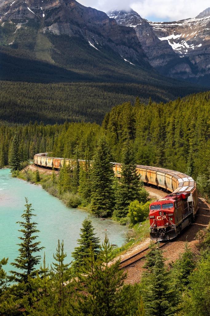 Freight train Canada