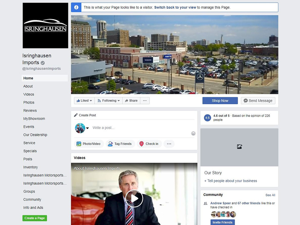 Marketing Your Business Using Facebook Header