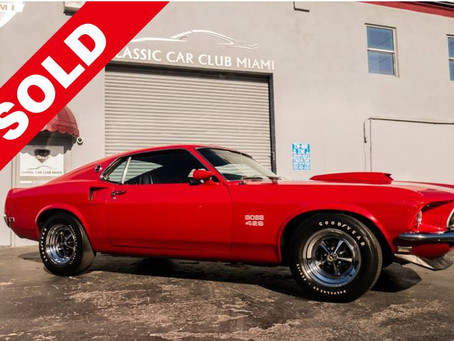 1969 FORDMUSTANG BOSS 429 (SOLD)
